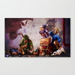 Peter Panhandler Canvas Print