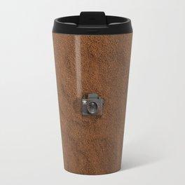 Ground Coffee & Tiny Tiny Camera Travel Mug