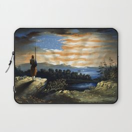Our Heaven Born Banner Laptop Sleeve