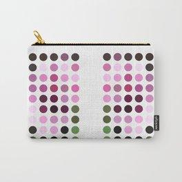 Rosas Moradas 1  Dots Carry-All Pouch