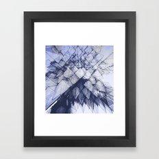 Rain Cloud Framed Art Print