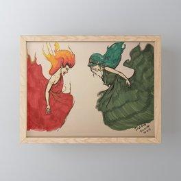 Divided Framed Mini Art Print