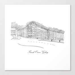 Frank Owen Gehry Canvas Print