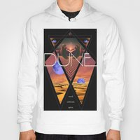 dune Hoodies featuring Dune Poster by S E R P E N T F I R E
