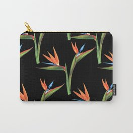 Bird of paradise flowers patten Carry-All Pouch