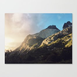Jurassic Light Canvas Print