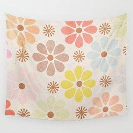 Flower Daisy Pattern Wall Tapestry