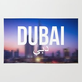 Dubai - Cityscape Rug