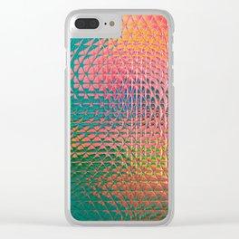 Life's A Blur Clear iPhone Case