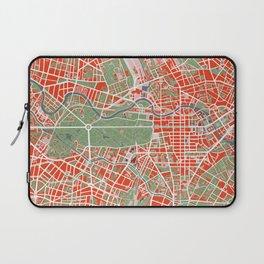 Berlin city map classic Laptop Sleeve