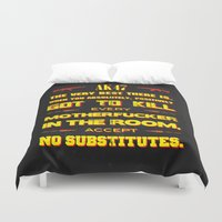 tarantino Duvet Covers featuring JackieBrown by Fimbis
