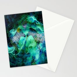 Love Beyond The Moon And Stars - Bagaceous Stationery Cards