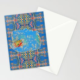 Portrait of a Mediterranean Frog Prince Stationery Cards