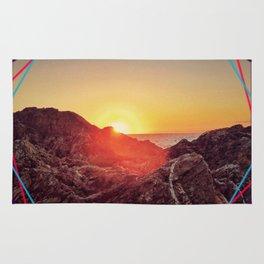 Peel sunset Rug