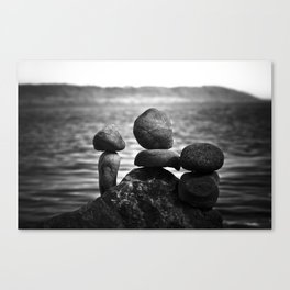 together alone Canvas Print