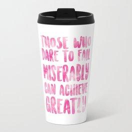 Achieve Greatly Travel Mug