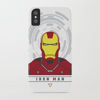 ironman iPhone & iPod Cases featuring IRONMAN by Nuthon Design