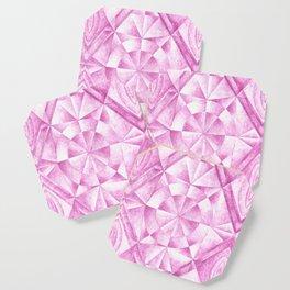 Cobalt Violet Pattern Coaster