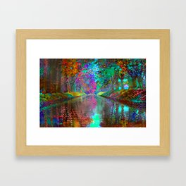Waterway Framed Art Print