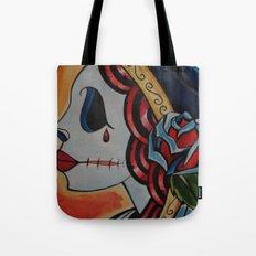 Fiery Deadhead Tote Bag
