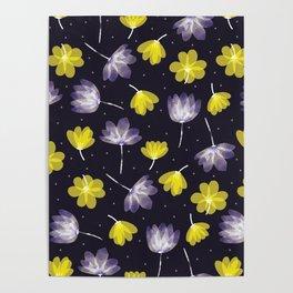 pressed flower Poster