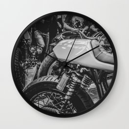 Bike shed 2016 Wall Clock