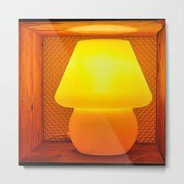 Box Lamp Metal Print