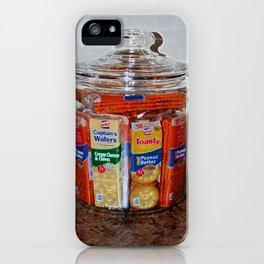 Grandma's Cracker Jar iPhone Case