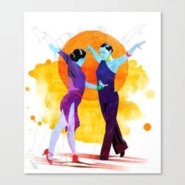 Victory Dance Canvas Print