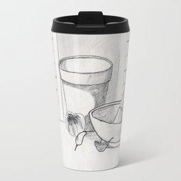 still life with garlic Travel Mug