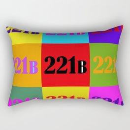 221B Color Block Rectangular Pillow