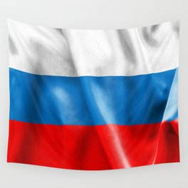 Russian Federation Flag Wall Tapestry