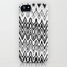 Missoni Style Mono iPhone Case