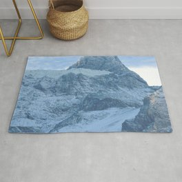 Los Andes |  Snow in mountains |  Landscape Photography Rug