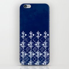 Blue Summer Pattern iPhone & iPod Skin