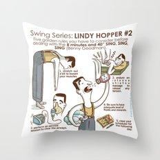 SWING SERIES: LINDY HOPPER #2 Throw Pillow