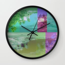 Psychotropic tropic Wall Clock