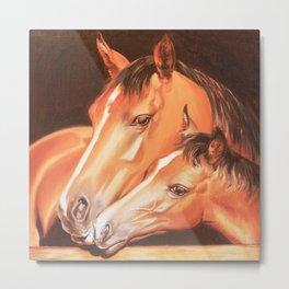 Love horses Metal Print