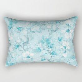 BLUE MAGNOLIAS Rectangular Pillow
