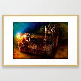 Ex Libris - A Book Lover's Dream Framed Art Print