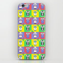 Elephant Career Costume Print 2 iPhone Skin