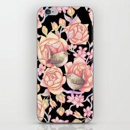 Birds'n'roses iPhone Skin