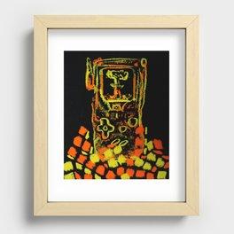 GAMEBOYATÓMICO Recessed Framed Print