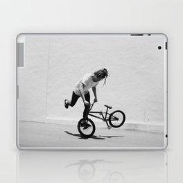 Flatland BMX Rider Laptop & iPad Skin