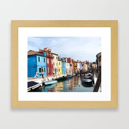 All The Colors Of The Rainbow Framed Art Print