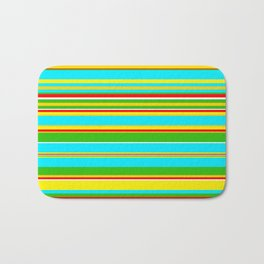 Stripes-004 Bath Mat