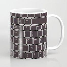 keyboard- typewriter-style device Coffee Mug