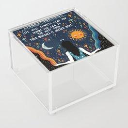Do the most good Acrylic Box
