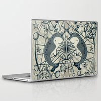narwhal Laptop & iPad Skins featuring Narwhal by AmKiLi