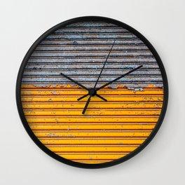 Painting away Wall Clock